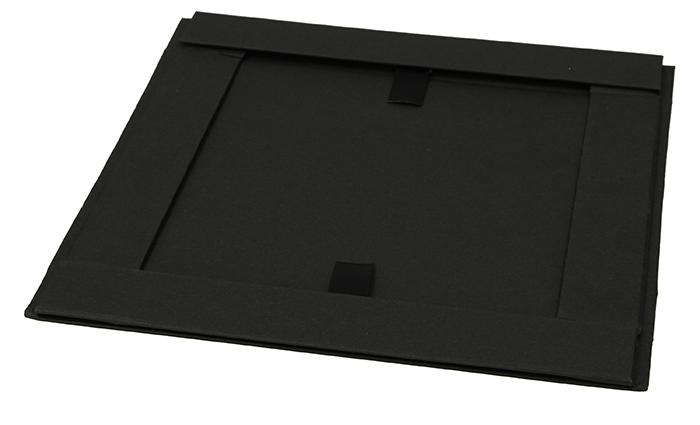 Magnetbox schwarz 22x16x3cm