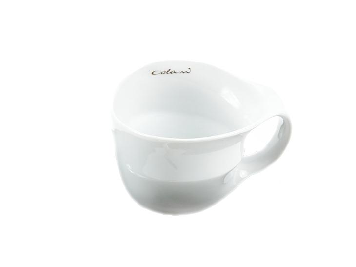 Luigi Colani Designer Jumbotasse weiß - Designgeschenk Kaffee