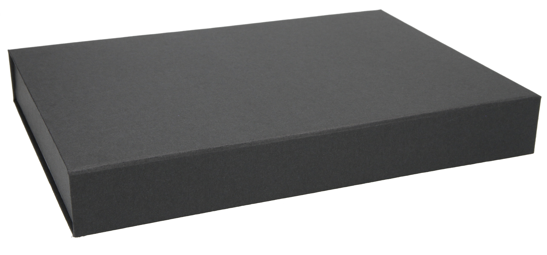 Hochwertige Verpackung Magnetbox schwarz 31x22x4 cm als Produktverpackung oder Geschenkverpackung Magnetfaltbox f/ür Geschenke oder Mitbringsel