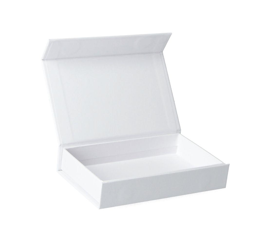 Hochwertige Gutscheinverpackung mit Magnetverschluss 12x7x2 cm