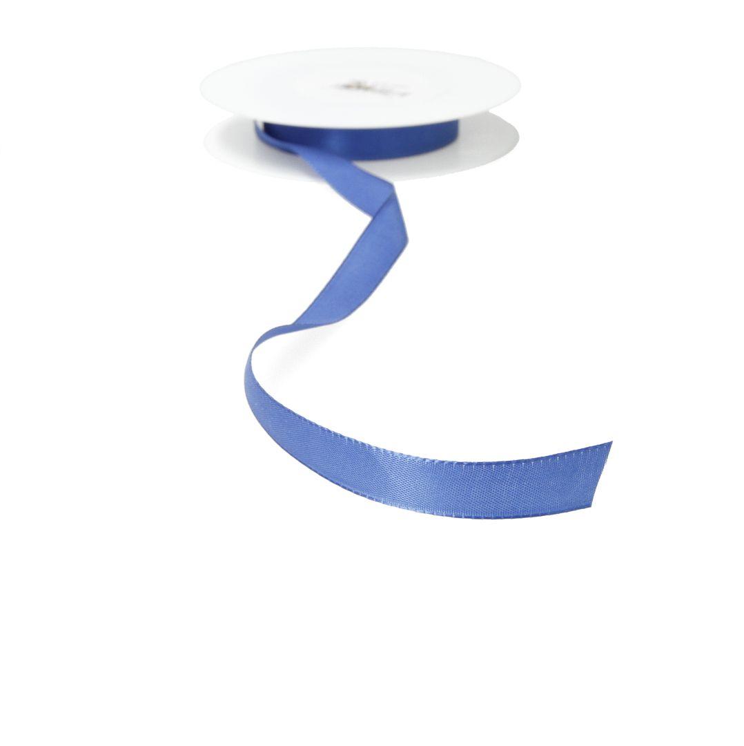 Satinband 17mm meterware - blau
