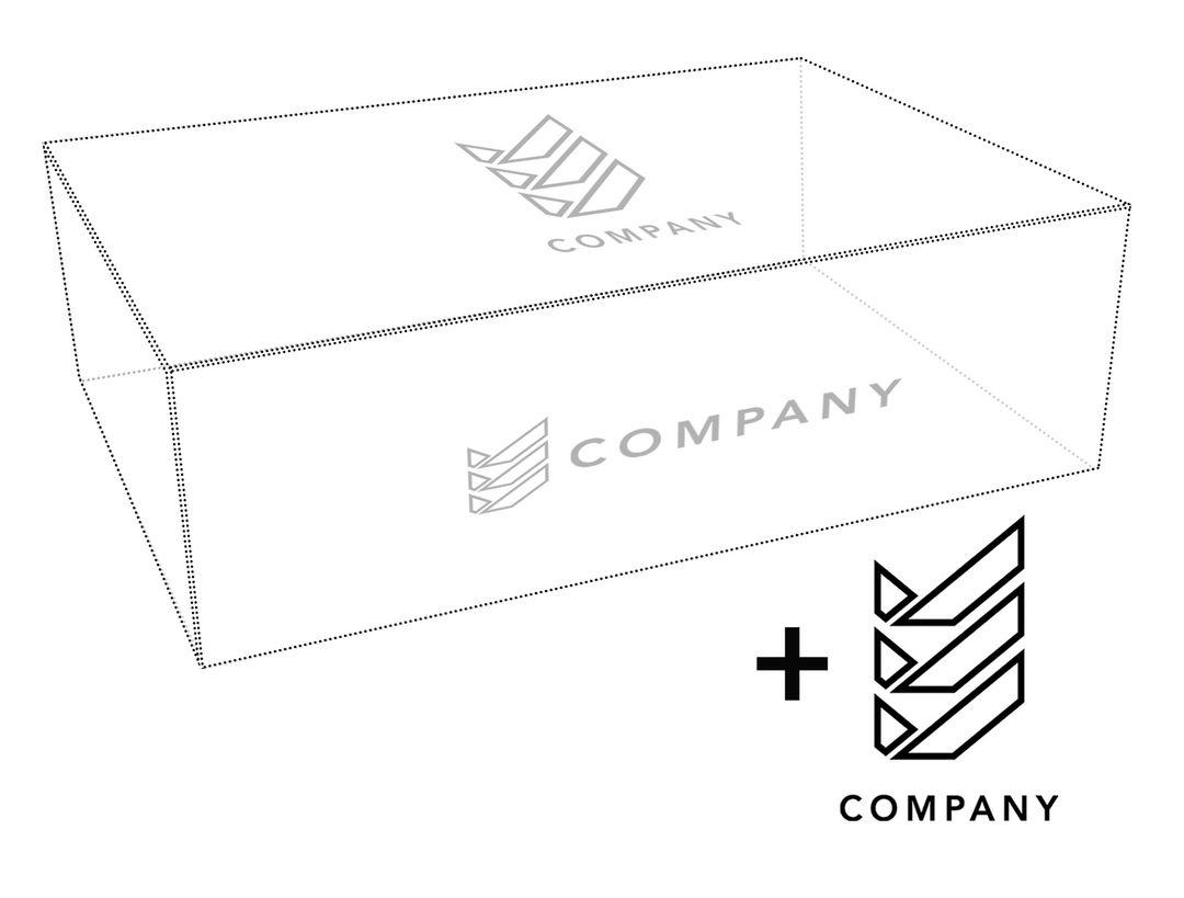 Add-on: Logo-Druck- oder Prägung / Veredelung auf unsere Magnetboxen