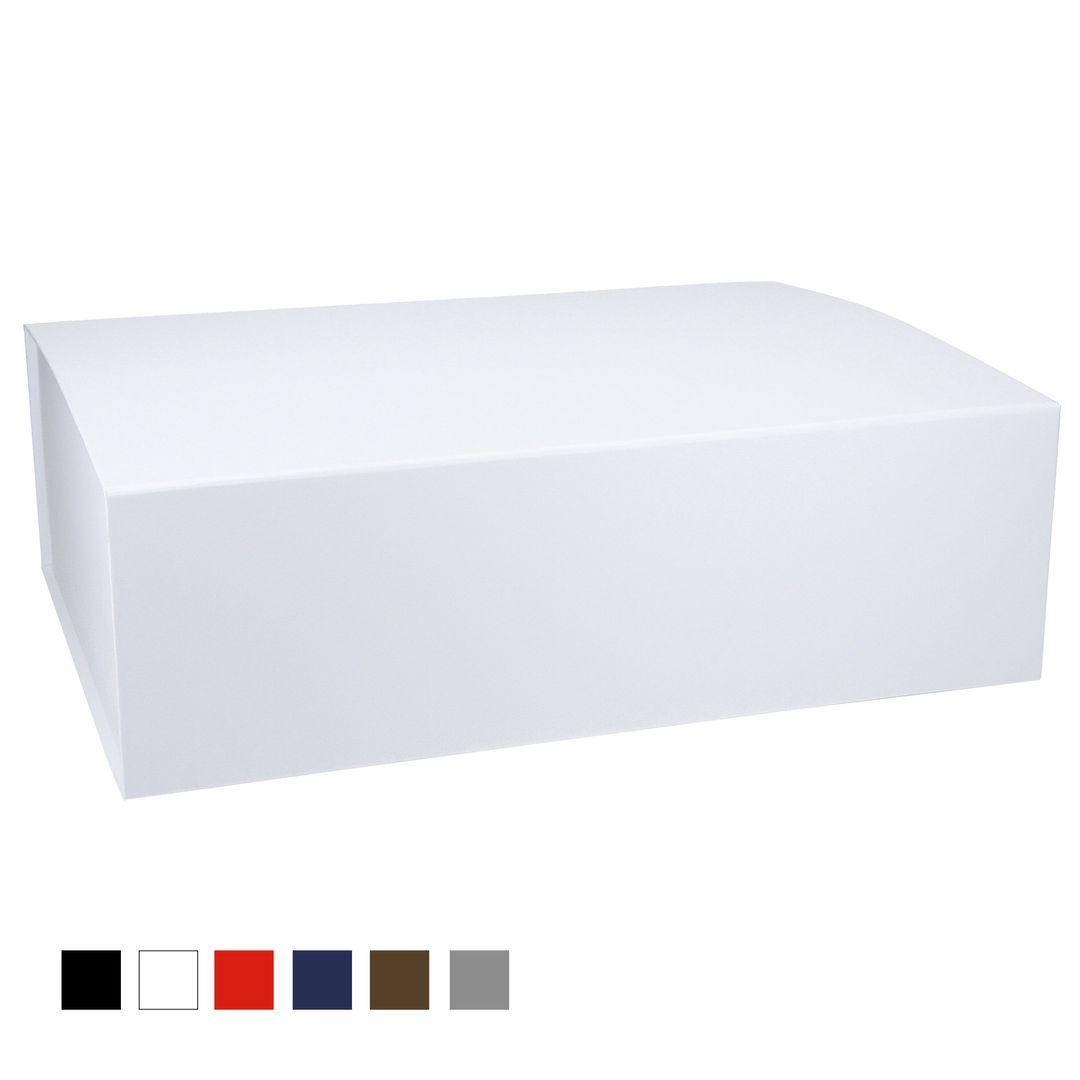 Magnetfaltbox 44x30x12cm mit durchgefärbtem Kraftpapier