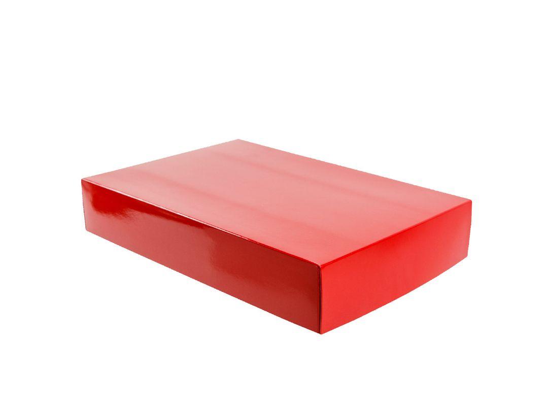 """Stülpfaltschachtel """"Classic"""" 33x22x6cm rot"""