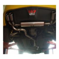 Edelstahl 70mm Duplex Sportauspuff Anlage Opel GT – Bild 3