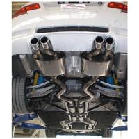 Edelstahl 70mm Duplex Sportauspuff Anlage BMW E90 E92 E93 M3 4.0 – Bild 2