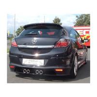 Edelstahl Gr.A Duplex Sportauspuff Anlage Opel Astra H GTC 1.6 2.0 Turbo – Bild 4