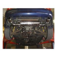 Edelstahl Gr.A Duplex Sportauspuff Anlage Mazda MX5 NB Roadster – Bild 2