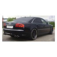 Edelstahl Duplex Sportauspuff Audi A8 D3 4E Benzin – Bild 2