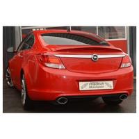 Edelstahl Duplex Sportauspuff Opel Insignia 132kW 162kW – Bild 2