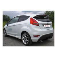 Edelstahl Duplex Sportauspuff Ford Fiesta JA8 1.4 1.6 TDCI – Bild 2