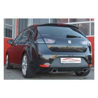 Stahl Duplex Sportauspuff Seat Leon 1P 1.4 1.8 TSI 2.0TFSI 136kw – Bild 2