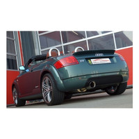 Edelstahl Gr.A Sportauspuff Anlage Audi TT 8N – Bild 3