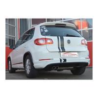 Edelstahl Gr.A Sportauspuff Anlage VW Tiguan Frontantrieb – Bild 3