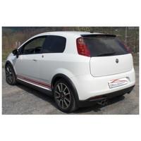 Edelstahl Sportauspuff Fiat Grande Punto Abarth – Bild 2