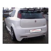 Edelstahl Gr.A Duplex Sportauspuff Anlage Fiat Grande Punto 1.2l 1.4l – Bild 2