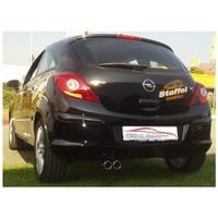 Stahl Sportauspuff Opel Corsa D – Bild 3