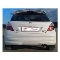 Stahl Sportauspuff Peugeot 207 Schrägheck – Bild 2