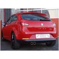 Stahl Sportauspuff Seat Ibiza 6J – Bild 2
