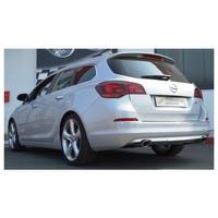 Edelstahl Duplex Sportauspuff Opel Astra J Sportstourer – Bild 2