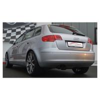 Edelstahl Gr.A Sportauspuff Anlage Audi A3 8P Sportback TFSI / 2.0 TDI – Bild 2