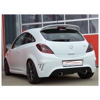 Edelstahl 70mm Duplex Sportauspuff Opel Corsa D OPC Nürburgring Edition – Bild 2