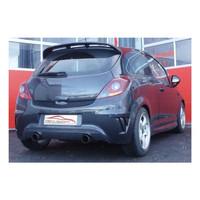Edelstahl 70mm Duplex Sportauspuff Opel Corsa D OPC Nürburgring Edition – Bild 4