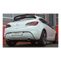 Edelstahl Gr.A Duplex Sportauspuff Anlage Opel Astra J GTC 1.4l 74kW – Bild 2