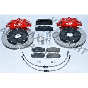 Sport Bremsen Set 330mm / Steelflex VW POLO 9N