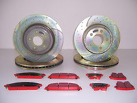 Chrysler 300C Sport Bremsen Set EBC VA + HA – Bild 1