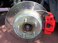Chrysler 300C Sport Bremsscheibe EBC Turbo Groove Disk hinten – Bild 1