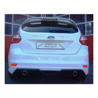 Edelstahl Duplex Sportauspuff Ford Focus 3 DYB 2.0 TDCI – Bild 4