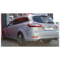 Edelstahl Duplex Sportauspuff Ford Mondeo BA7 2.2 TDCI – Bild 2