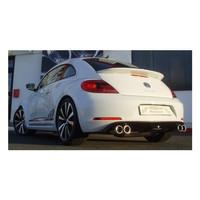 Edelstahl Sportauspuff Gr.A Duplex Anlage VW Beetle 5C 2.0 TSI – Bild 2