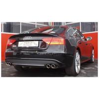 Edelstahl 70mm Duplex Sportauspuff Anlage Audi S5 B8 Sportback Quattro – Bild 2