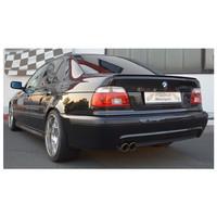 Stahl Sportauspuff BMW E39 Limo – Bild 2