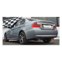 Edelstahl Sportauspuff BMW E90 E91 316 318 320 td – Bild 2