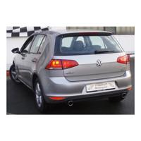 Stahl Duplex Sportauspuff VW Golf 7 1.6l TDI 77kW