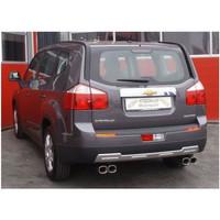 Edelstahl Duplex Sportauspuff Chevrolet Orlando 1.4l Turbo 103kW – Bild 2