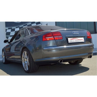 Edelstahl Duplex Sportauspuff Audi A8 D3 4E Quattro Diesel – Bild 3