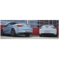 Edelstahl Duplex Sportauspuff Opel Cascada ab 2013 1.4l Turbo 88 103kW – Bild 2