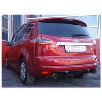 Edelstahl Duplex Sportauspuff Ford S Max 2.0l EcoBoost 149kW 176kW – Bild 2