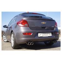 Edelstahl Gr.A Duplex Sportauspuff Anlage Chevrolet Cruze 1.7l TD 96kW