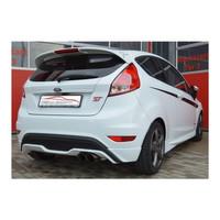 Edelstahl 70mm Sportauspuff Anlage Ford Fiesta JA8 ST Facelift 1.6 Eco – Bild 2