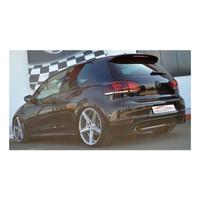 Edelstahl 76mm Duplex Sportauspuff Anlage VW Golf 6 GTI 2.0 TSI EDITION 35 – Bild 6