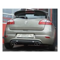 Edelstahl 76mm Duplex Sportauspuff Anlage Renault Megane 3 Z GT Coupe 5 Türer – Bild 4