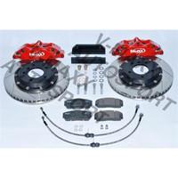 Sport Bremsen Set 330mm / Steelflex BMW E46 Limo