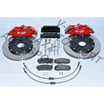 Sport Bremsen Set 290mm / Steelflex VW JETTA 1 16 001