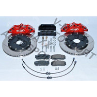 Sport Bremsen Set 290mm / Steelflex VW CADDY 1 14