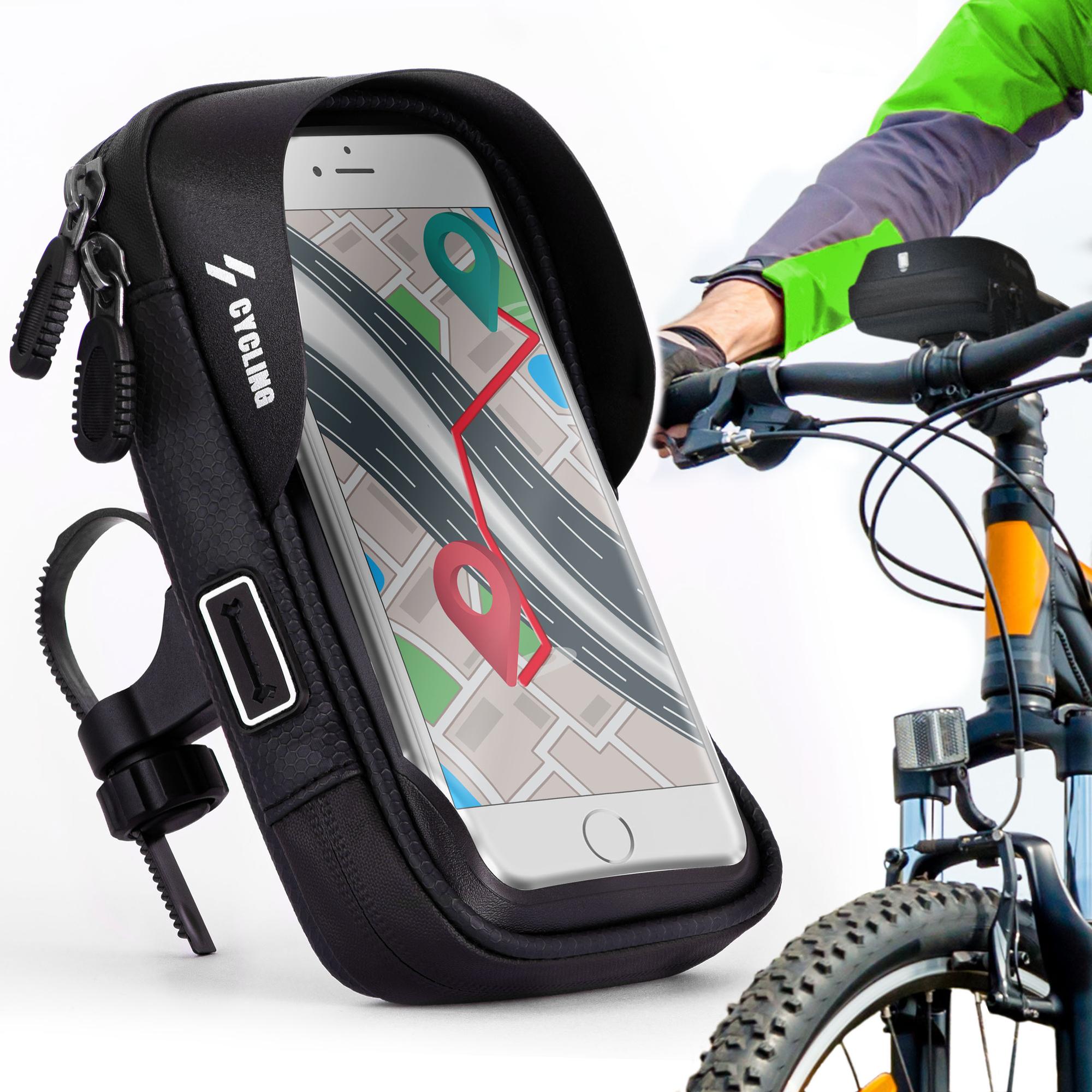Fahrrad Halterung f Apple iPhone 5s Rahmenhalter Fahrradtasche Rahmentasche Sch
